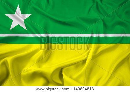 Waving Flag Of Boa Vista, Roraima, Brazil