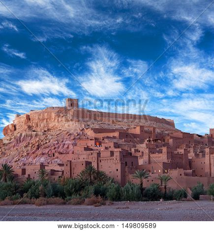 Ait Benhaddou Casbah In Morocco