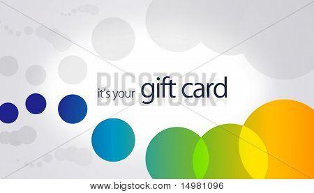 Gift Card - Circles