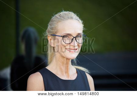 Mature Busineswoman