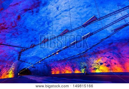 Laerdal Tunnel, the longest road tunnel in the world - Norway