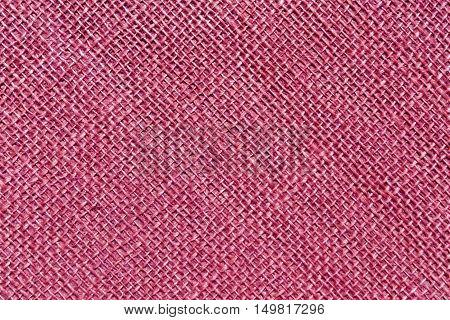 Pink Sack Cloth Texture.