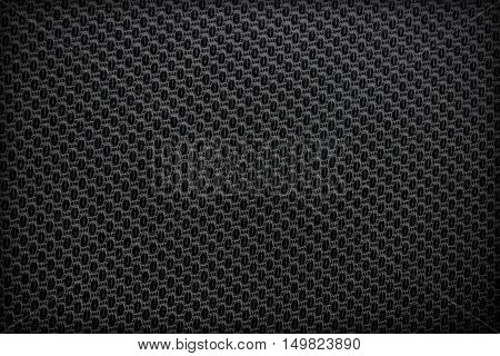 The black leather texture for background .