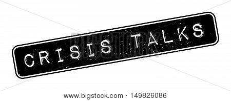 Crisis Talks Rubber Stamp