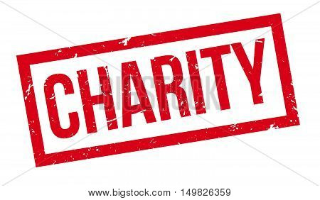 Charity Rubber Stamp