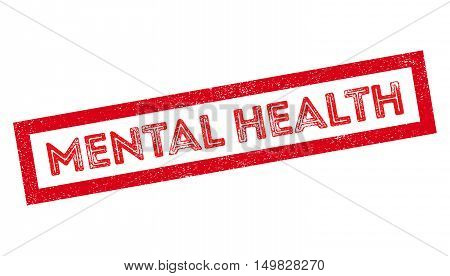 Mental Health Rubber Stamp