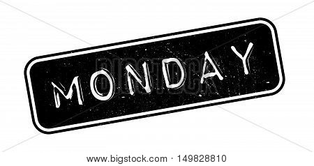 Monday Rubber Stamp
