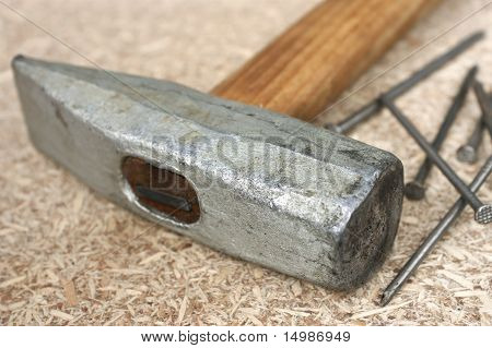 Hammer And A Handful Of Nails