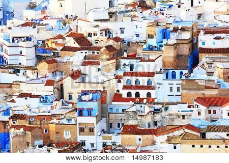 Architectural details in Chefchaouen