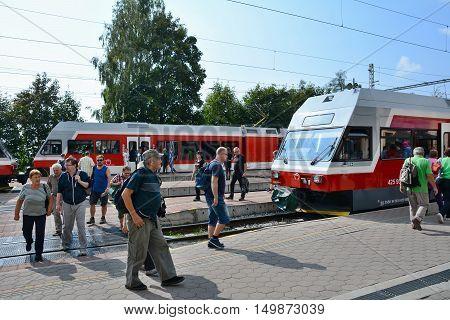 Stary Smokovec Railway Station