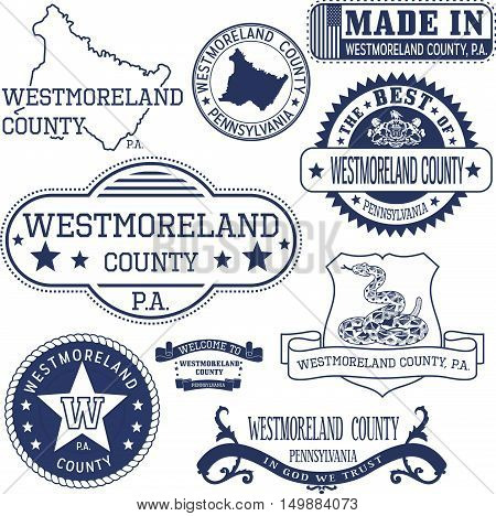 Generic Stamps And Signs Of Westmoreland County, Pa