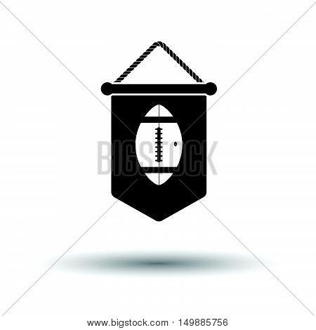 American Football Pennant Icon