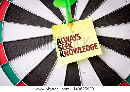 Ask - Always Seek Knowledge
