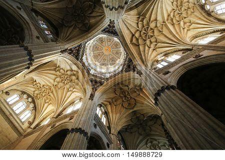 New Cathedral Of Salamanca