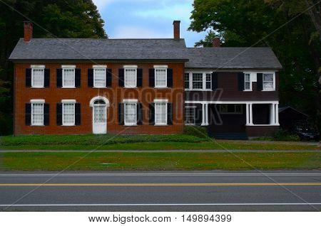 Merwin House Stockbridge MA Main Street, Formally named