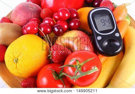 Продукты овощи и фрукты при сахарном диабете