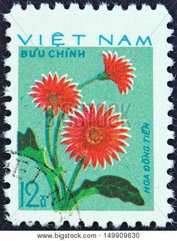 VIETNAM - CIRCA 1977: A stamp printed in Vietnam from the