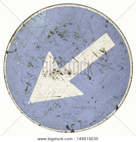 Vintage Looking Arrow Sign
