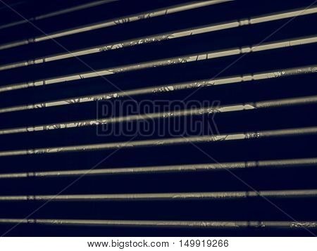 Vintage Looking Window Blinds