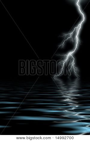 Lightning By The Sea