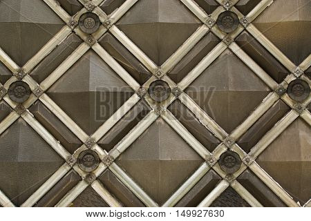quilted background background diamond gray background, brown