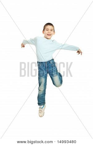 Jumping Happy  Kid Boy