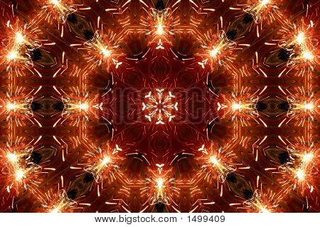 Grinding Sparks3  Kaleidoscope