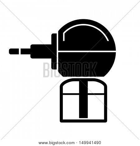 anti mosquito fumigator black symbol vector