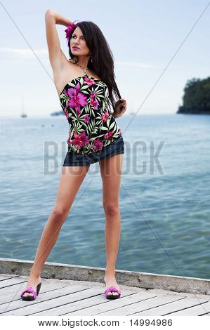 Sensual Summer Girl