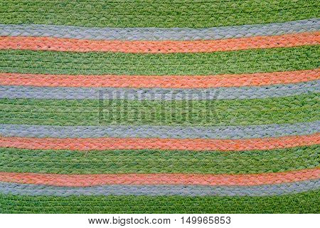 Natural color sisal in the big garden