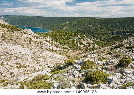Vransko Lake, Cres Island, Croatia