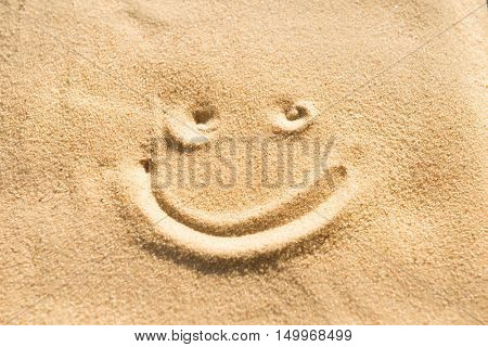 Smile On The Sand