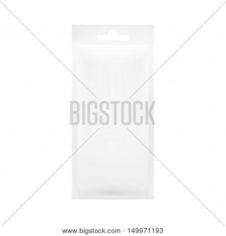 White Blank Foil Pouch Packaging For Salt, Sugar, Sachet, Seeds