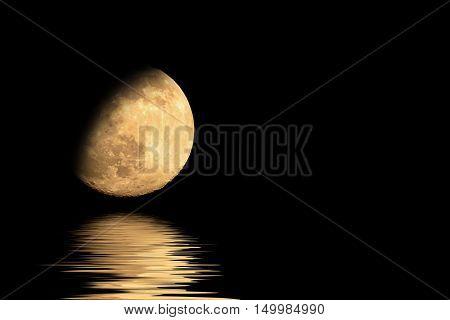 Half-moon And Shadows