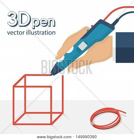 3D Pen Vector
