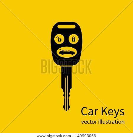 Icon Key Car