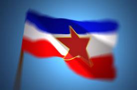 picture of former yugoslavia  - The flag of Yugoslavia - JPG