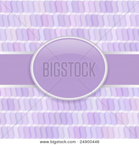 Retro vector violet soft cover