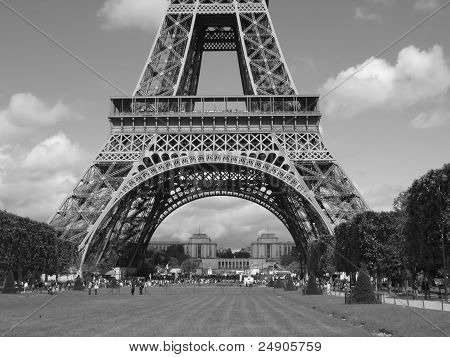 The Eiffel Tower of Paris, France