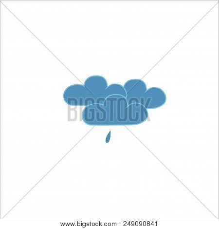 Light Rain Weather Icon Meteorology