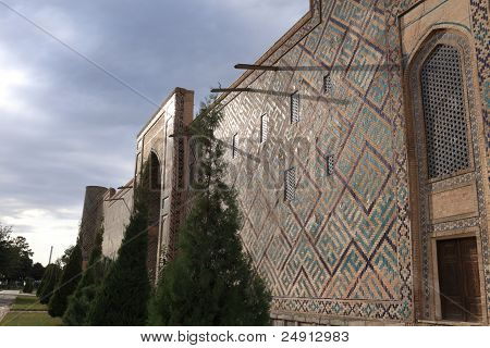Madrasa Of Ulugh Beg In Samarqand
