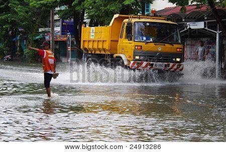 October 30,2011 Bangkok Flood