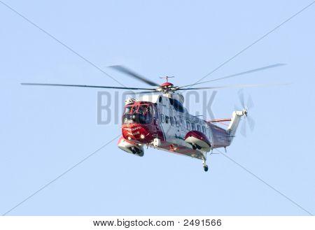 HM Küstenwache Hubschrauber