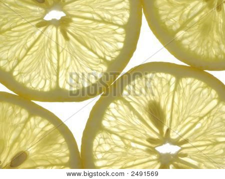 Slices Of Lemon