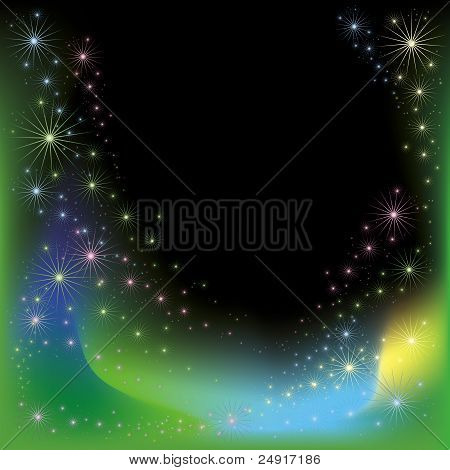 Bright Celebratory Background