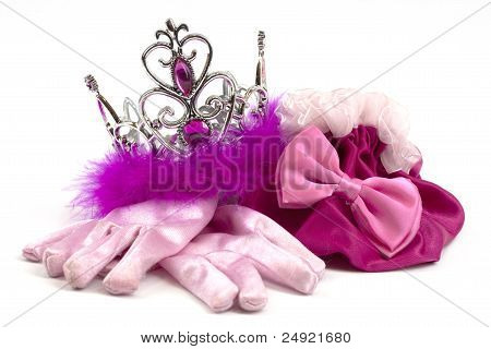Pink princess accessories