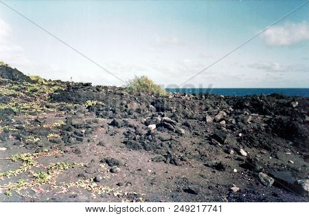 Hardened Lava On The Remote