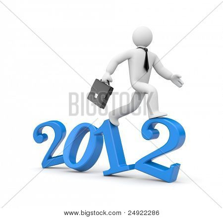 Run to new year