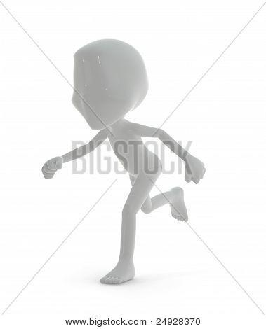 3D Character :  Running Concept