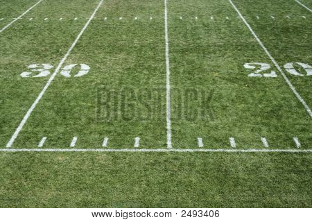 Football Field Yardage